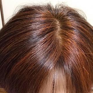 ヘナ後の頭皮